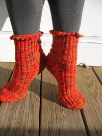 Geranium_socks